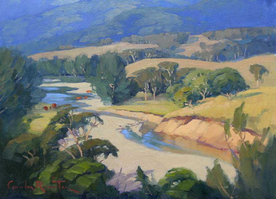 macleay paintings_ australlian landscape art