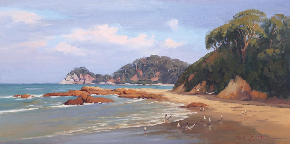 batemans bay paintings,australian_landscape_paintings,south_coast_paintings, australian_beach_paintings