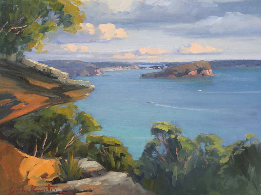 lion_island_west_head_painting_australian_art_painting