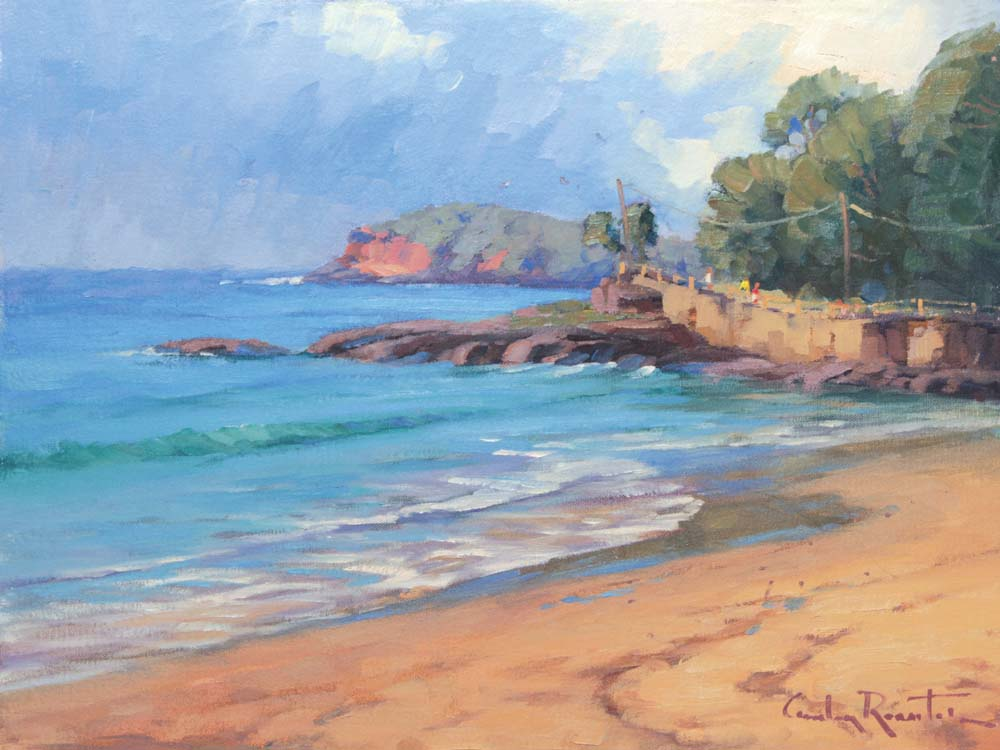 manly_beach_art_rossiter_gordon_australian_landscape_painting