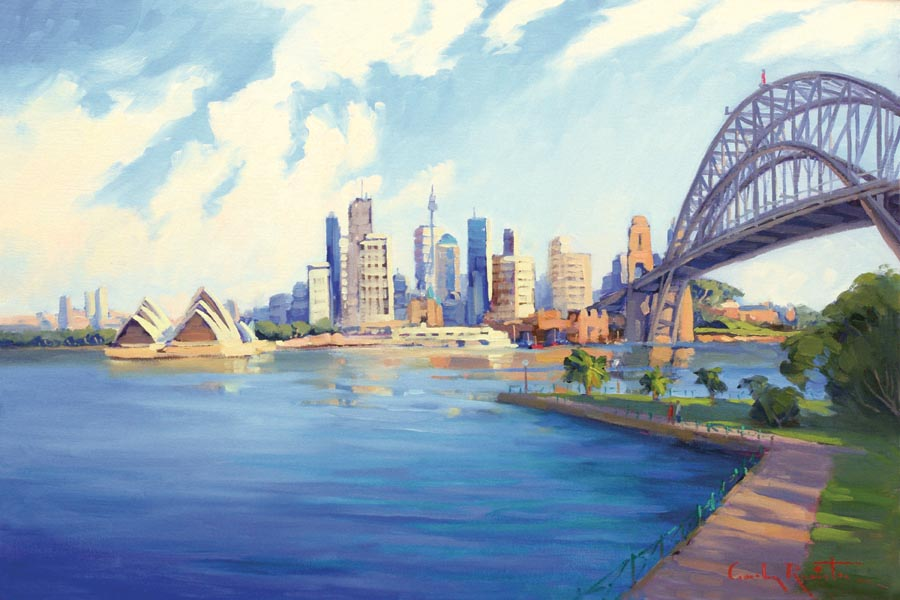 sydney_harbour_australia_art_painting