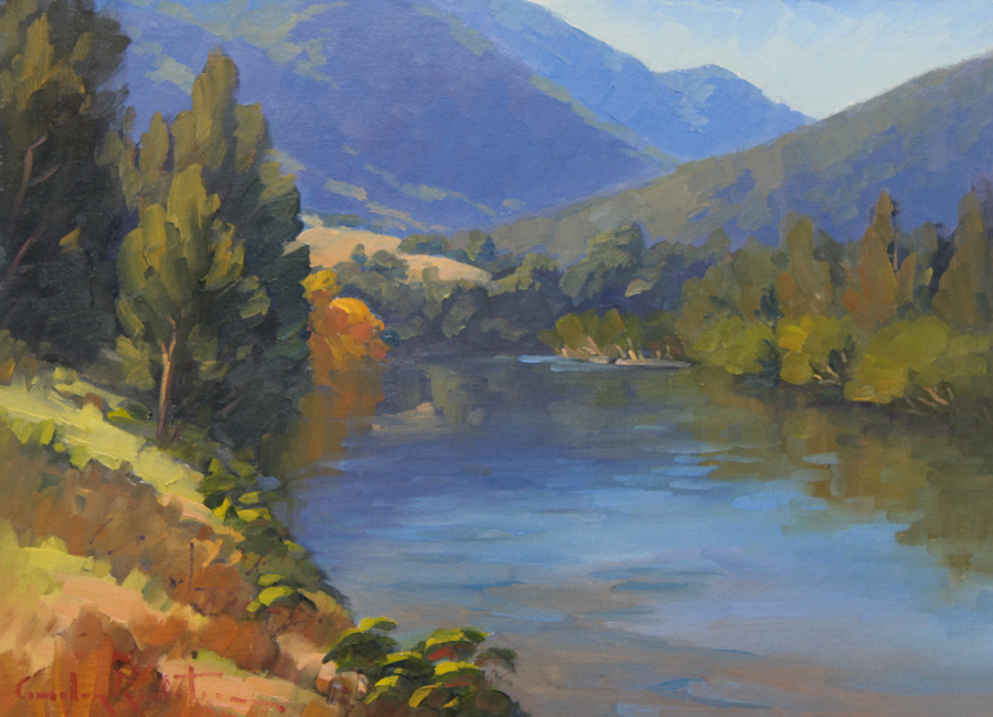 Macleay river art, river paintings australia, landscape art