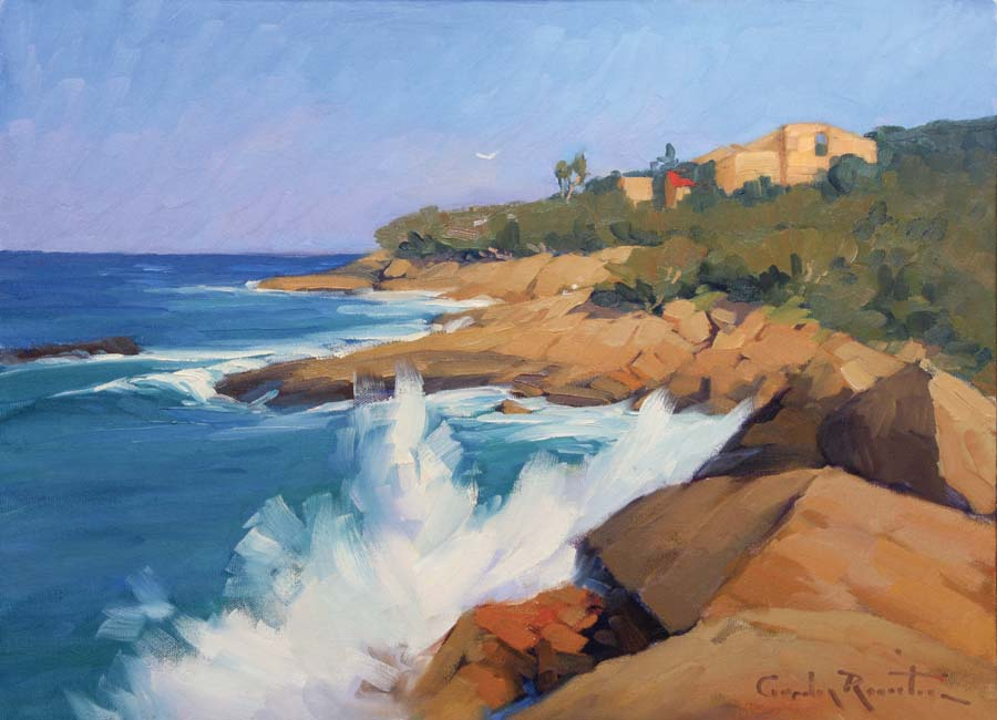 souith-west_rocks_ art-   australian painting